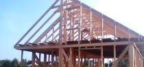 Строительство каркасных домов, бань, беседок.